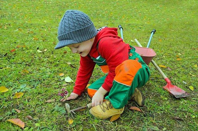 jardin : meilleur lieu pour apprendre la vie aux enfants